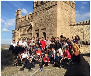 Excursión a Toledo de 2º de Bachillerato del Colegio Las Rosas de Madrid_3