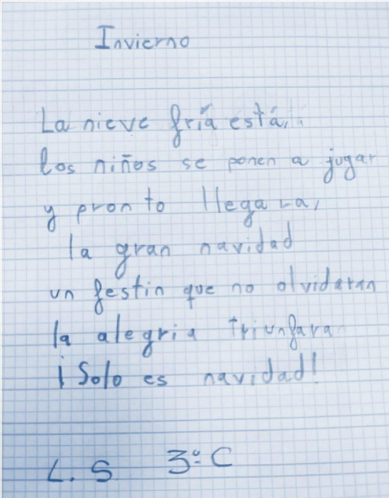 Poesía de 3º de Primaria del Colegio Las Rosas de Madrid_3