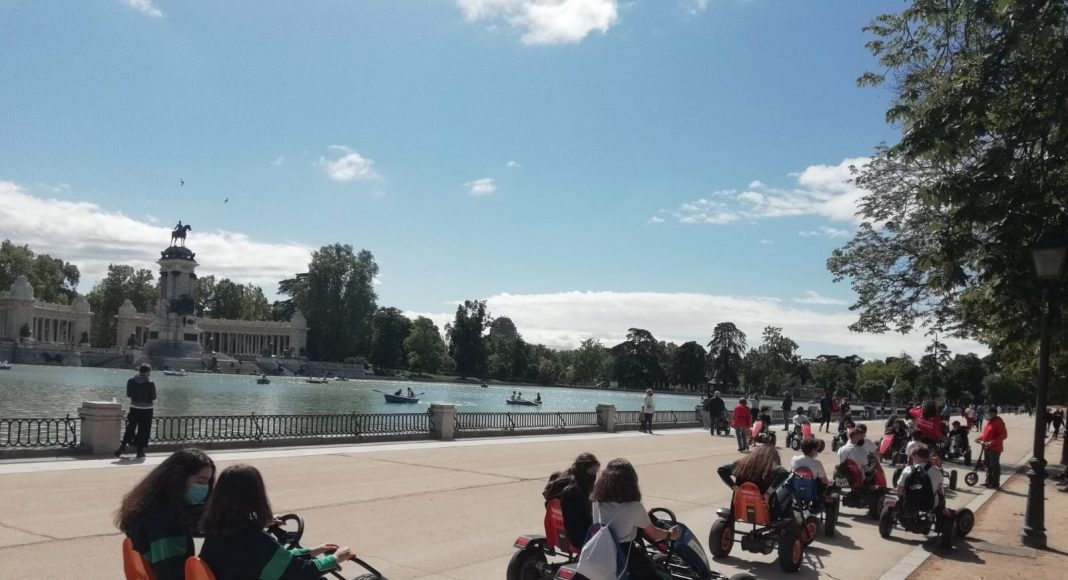 Excursión al Retiro de Primero de Secundaria del Colegio Las Rosas de Madrid_15